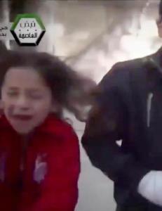 Barna forteller om brutale angrep i Damaskus - s� smeller bomben