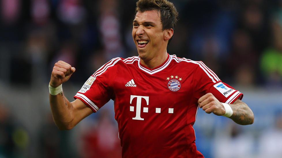 Mandzukic - Bayern 2013