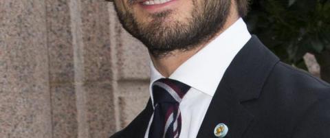 Svenske prins Carl Philip i busskrasj