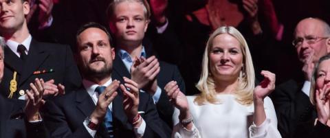 Kronprinsesse Mette-Marit kommer ikke p� �rets Nobelkonsert