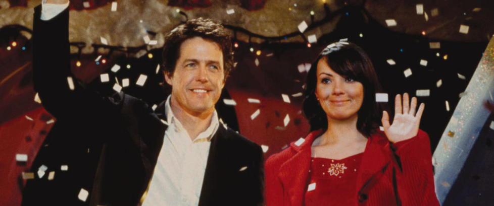 Over 600 000 s� �statsminister� Hugh Grant kysse sin Natalie i g�r