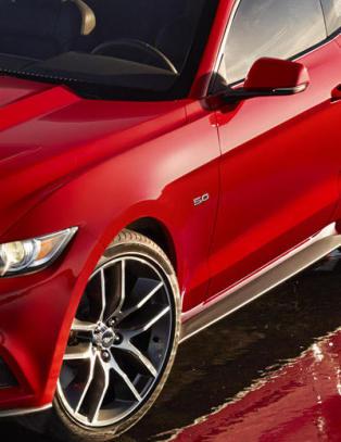 Nye Ford Mustang ogs� til Norge