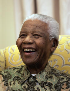 Takket verden og S�r-Afrika