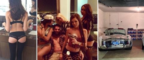 toppløse damer kles poker