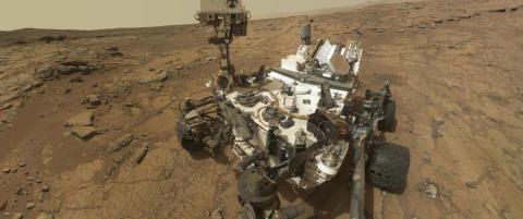 Innsj� p� Mars viser at det kan ha v�rt liv der