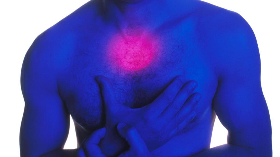smerter i brystbenet