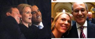 - Jeg hadde ikke g�tt rett bort til Obama for � sp�rre om det. Det ville v�rt litt flaut.