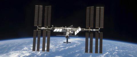 Feil i livsviktig system p� romstasjonen