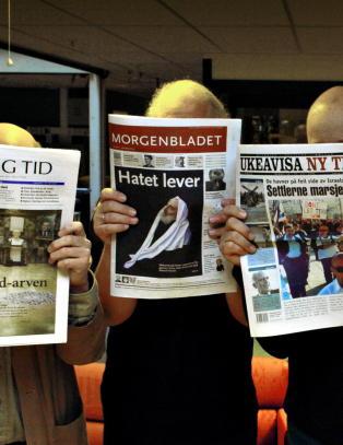 Morgenbladet kj�pt opp