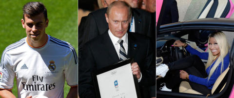For et Sotsji-OL kan du f� 300 Gareth Bale-er, 10 millioner Iphoner, 1 000 t�rnvillaer og 1 000 Lamborghinier
