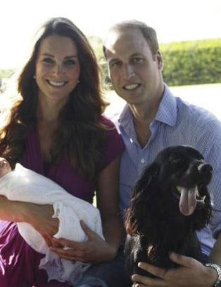 Dronningen nektet Kate og Williams hund � delta p� julefering