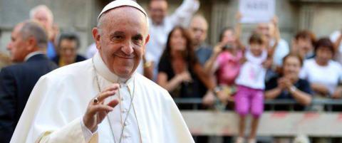 Pave Frans k�ret til verdens best kledde mann