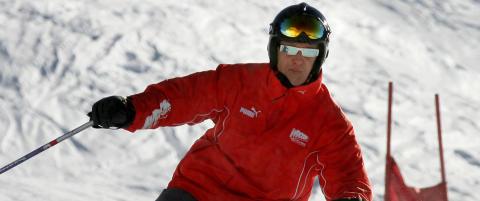 Opptaket fra Schumachers hjelmkamera er intakt
