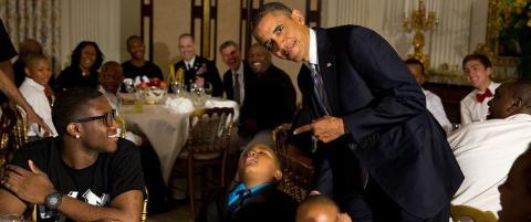 Dette skjer n�r du sovner p� bes�k hos presidenten
