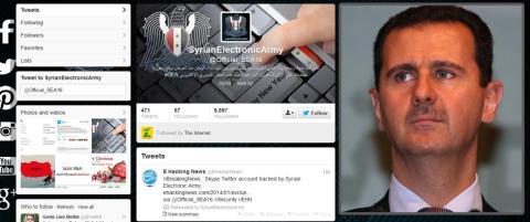 �Ulven�, �Proffen� og �Skyggen� utgj�r Bashar al-Assads fryktede cyberh�r