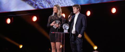 Magnus Carlsen vant tre priser p� Idrettsgallaen