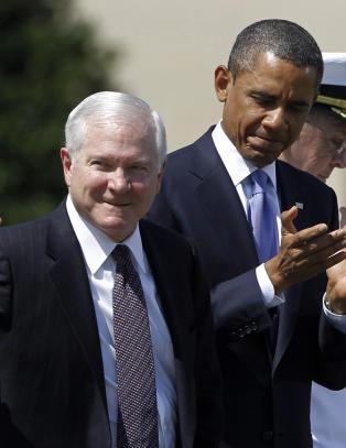 Eks-Pentagon sjef fillerister Obama i ny bok
