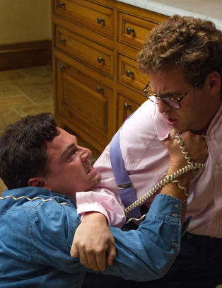 Innspillingen av denne scenen fikk alvorlige f�lger for DiCaprio