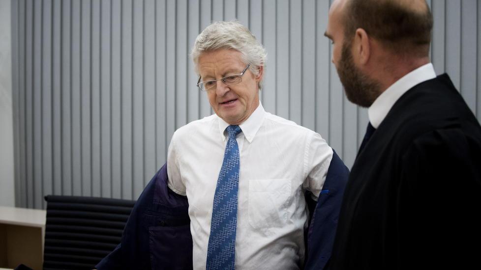 HYRET EKSPERT : Advokat Harald Stabell leide inn en ekspert for å finne ut om kontoret hans ble avlyttet. Foto: Øistein Norum Monsen / DAGBLADET