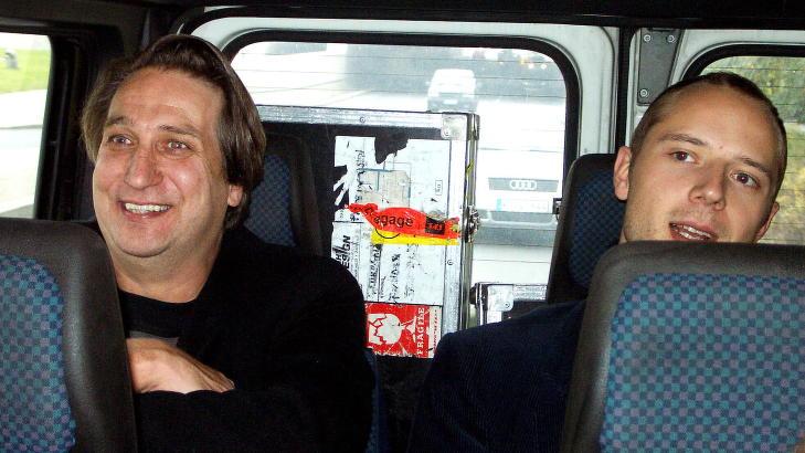 KOLLEGER OG VENNER: Sivert H�yem og Per Eirik Johansen.