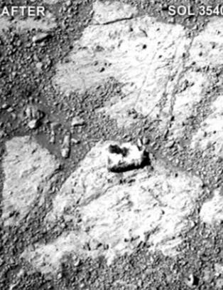 Denne Mars-steinen er et mysterium for forskerne