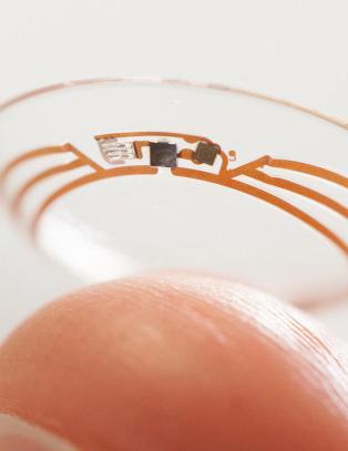 Lager kontaktlinse som skal m�le blodsukkeret