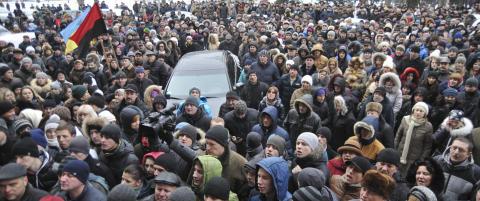 Volden sprer seg til flere steder i Ukraina