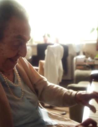 Alice (110) ble holdt fanget av Nazi-Tyskland. N� kan hun vinne Oscar