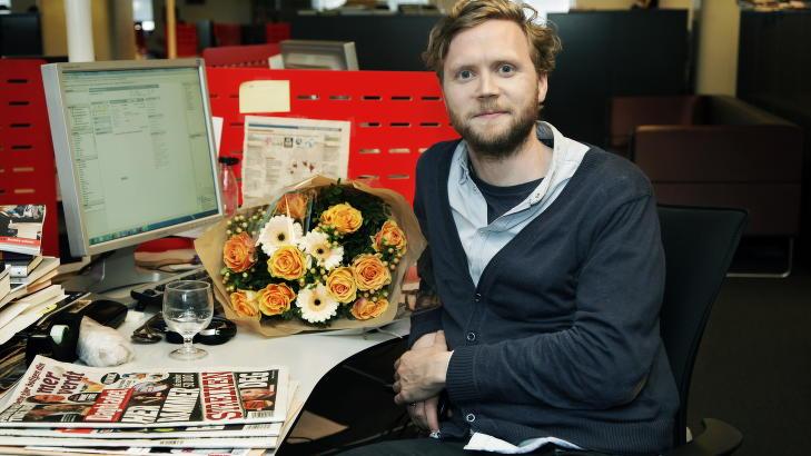 FORN�YD: Kulturredakt�r i Dagbladet, Geir Ramnefjell. Foto: Steinar Buholm