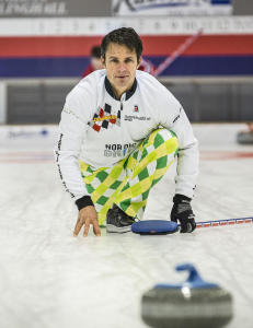 - Curlinghallen er nok ikke et prioritert sted � sprenge. Vi f�r i alle fall h�pe det