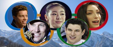 Her er noen av de st�rste OL-stjernene