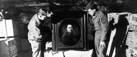 Kunsteksperter dro i krigen for å redde kunsten nazistene hadde stjålet