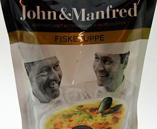 John og manfred fiskesuppe