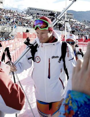 Aksel Lund Svindal reiser hjem fra Sotsji