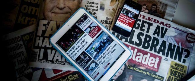 Frykter d�dsdom over mange aviser