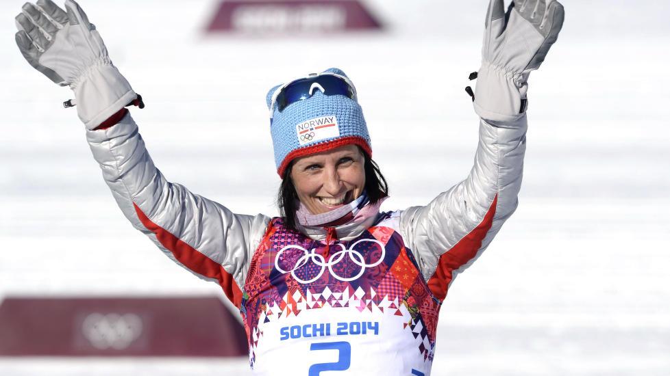 POPULÆR: Alle vil ha OL-utøvernes flotte heklelue. Foto: Sven Simon/ALL OVER PRESS