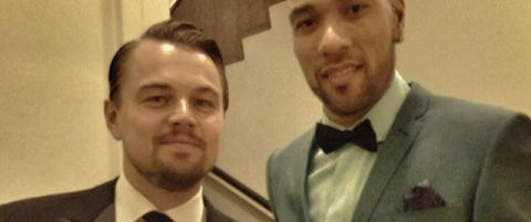 Her henger John Carew med «The Wolf of Wall Street»