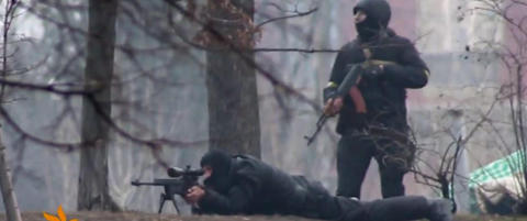 Det har g�tt rykter om skarpskytterne i Kiev i flere uker