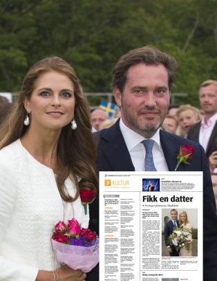 Tok feil av Madeleines utro eks og n�v�rende ektemann