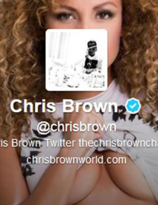 Chris Brown fronter norske Mona for millioner av f�lgere