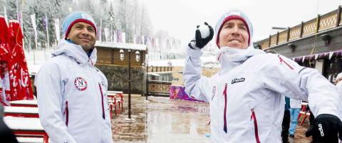 Ole Einar Bj�rndalen skal s�rge for superski til Emil Hegle Svendsen