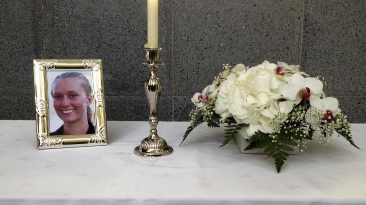 DREPT: Det var 21 �r gamle Anja Wel�y Aarseth som ble drept under en joggetur p� Aksla-fjellet i �lesund i august i fjor. Foto: Elin �vreb� / NTB scanpix