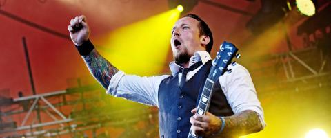 Volbeat spiller p� utvidet Tons of Rock