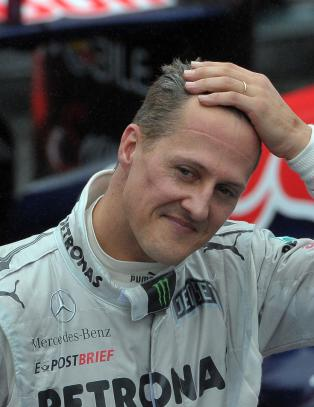 Agent: Fremgang for Michael Schumacher