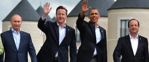 Obama og vesten �ker presset p� Russland mens volden og uroen eskalerer p� Krim