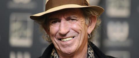 Keith Richards skriver barnebok