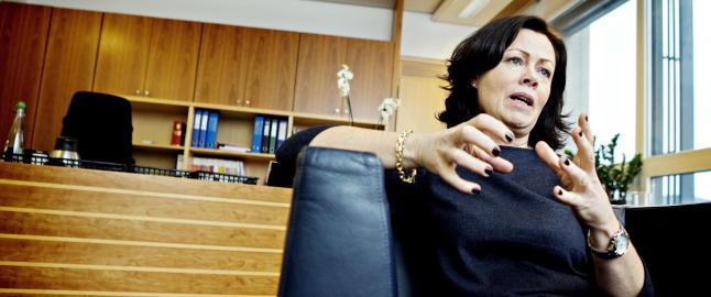 Solveig Horne foresl�r at barn skal bo b�de hos mor og far etter samlivsbrudd