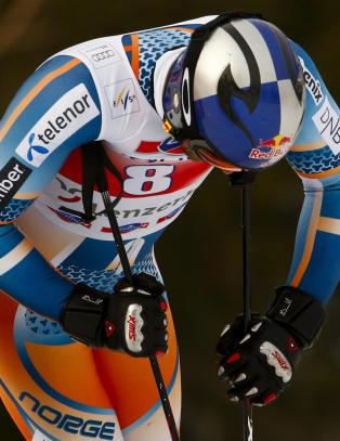 Lund Svindal kj�rte ut, vant ikke verdenscupen