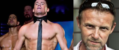 Hollywood-stjerne Channing Tatum i m�te med Jo Nesb� om �S�nnen�-filmatisering