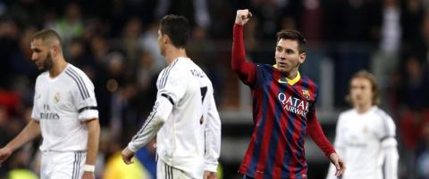 Tre Messi-mål, to straffer, rødt kort og fullt drama